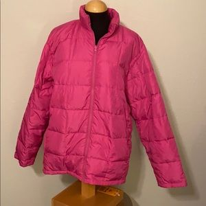 Lands End Puffer Jacket Size 2X